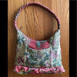 April Cornell for Isabels journey tapestry handbag